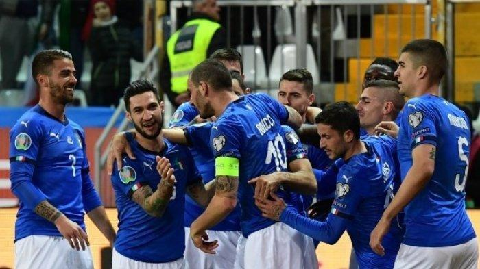 Timnas Italia vs Belgia di EURO 2020