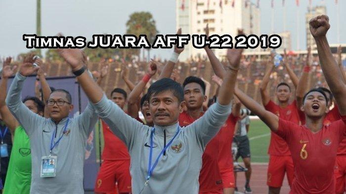 Indra Sjafri Bangga Bisa Raih Prestasi di Piala AFF U-22 2019, Pelatih Lokal Bawa Juara Garuda Muda