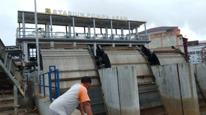 Kabar Baik Tinggi Air Sungai Batanghari di Kota Jambi Berangsur Turun