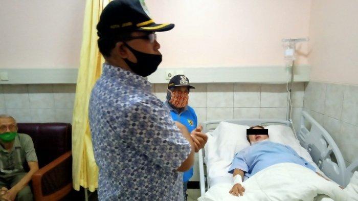 Titi Korban Kebakaran Ruko di Gang Siku Alami Luka Bakar, Minta Tolong ke Camat Mursida
