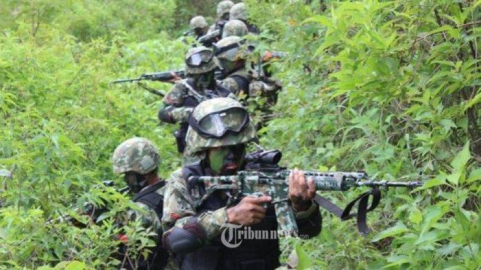 3 Prajurit TNI Terluka Dalam Kontak Tembak Dengan KKB di Nduga, Langsung Dievakuasi Pakai Heli