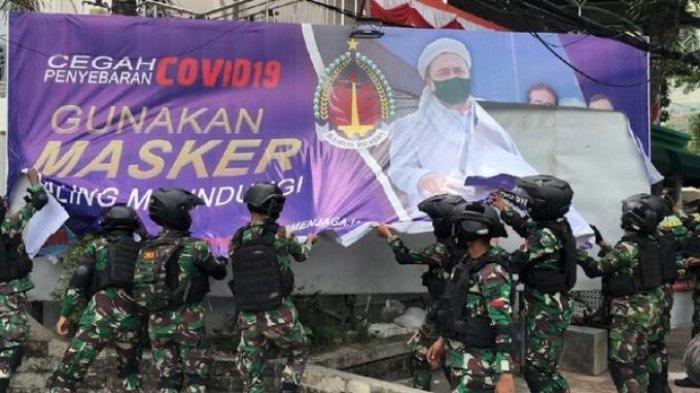 Posko Haji Lulung Ikut Digeruduk TNI, Baliho di Tanah Abang Dirusak: Kenapa Tentara Kok Jadi Begini?