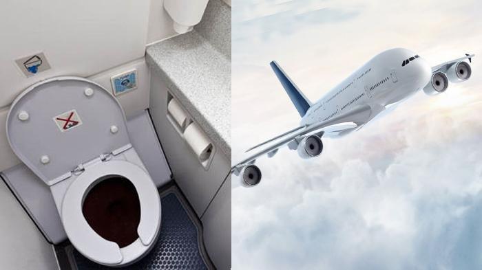 Kemanakah Kotoran di Toilet Pesawat dibuang Saat Dalam Keaadaan Terbang? Ternyata Ini Jawabannya