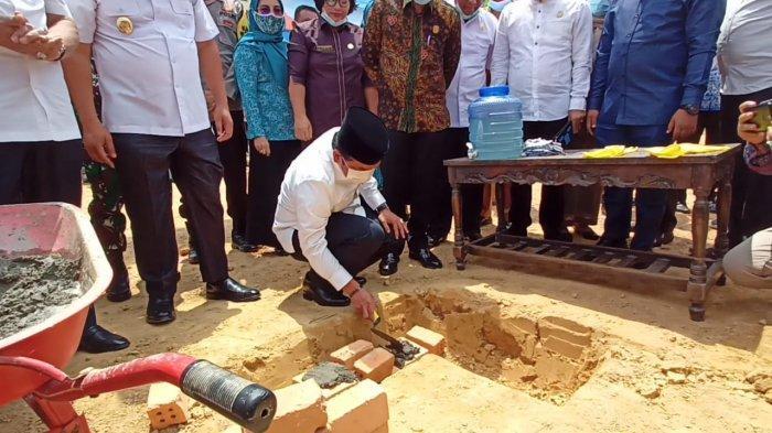 Tontawi Jauhari menghadiri peresmian Kecamatan Mandiangin Timur