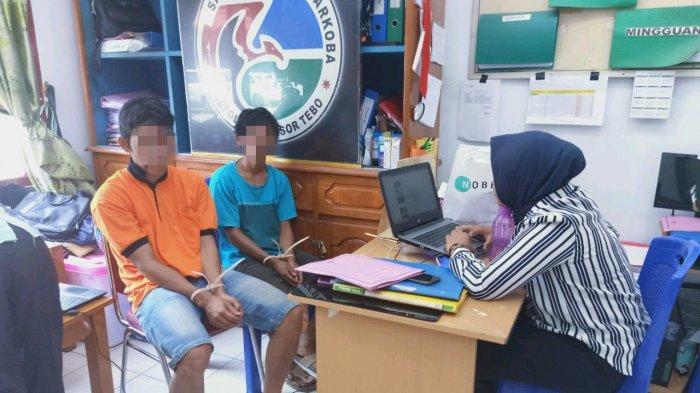 Transaksi Narkoba di Pinggir Jalan, 2 Warga Bungo Ini Diringkus Polisi