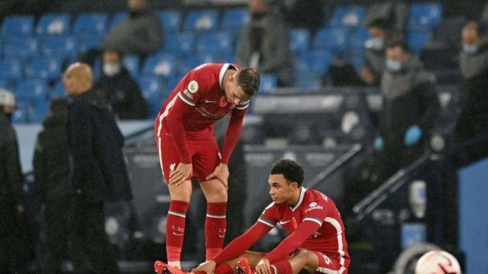 Trent Alexander Arnold harus menepi karna cidera jelang Liverpool menjamu Man City di Liga Inggris