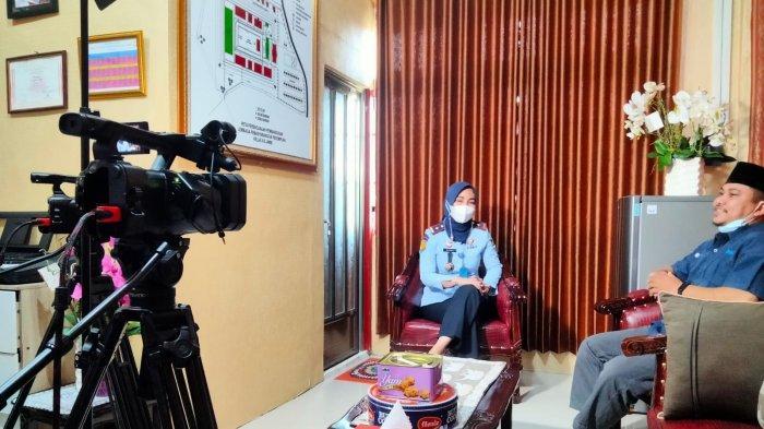 Triana Agustin,Kepala Lapas Perempuan Klas IIB Muarojambi Berharap Jika Napi Keluar Bisa Hidup Layak
