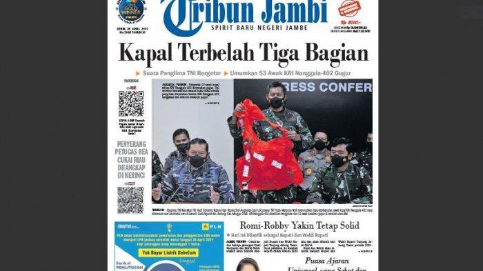Editorial - Kabar Duka KRI Nanggala-402