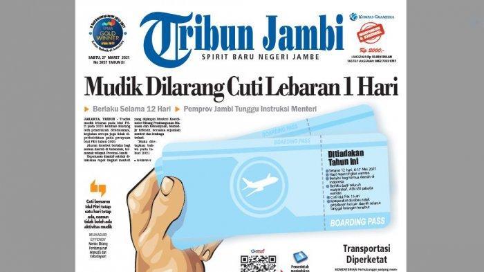 Editorial - Larangan Mudik Harus Tegas