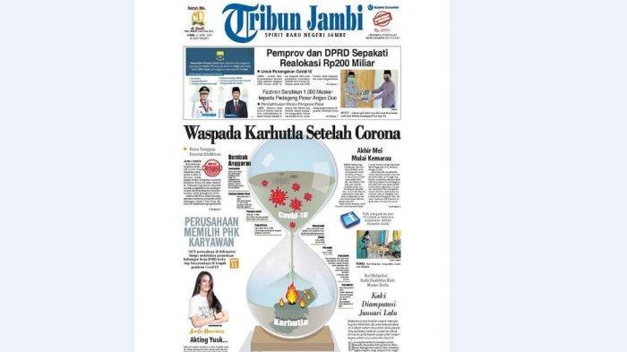 BERITA EKSKLUSIF Waspada Karhutla setelah Corona, Dana Tanggap Darurat Dialihkan