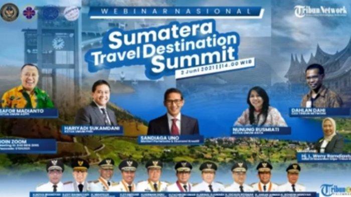 Tribun Network Gelar Seminar Nasional Sumatra Travel Destination Summit Diikuti Mentri & 10 Gubernur