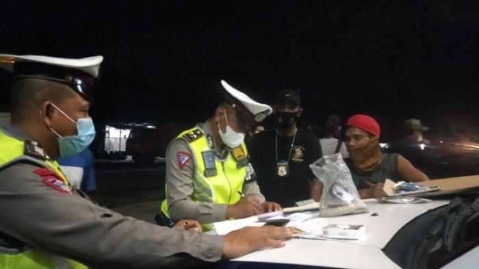 Ditlantas Polda Jambi Amankan 14 Truk Batu Bara di Jalan Baru, 10 Sopir Dicek Narkoba