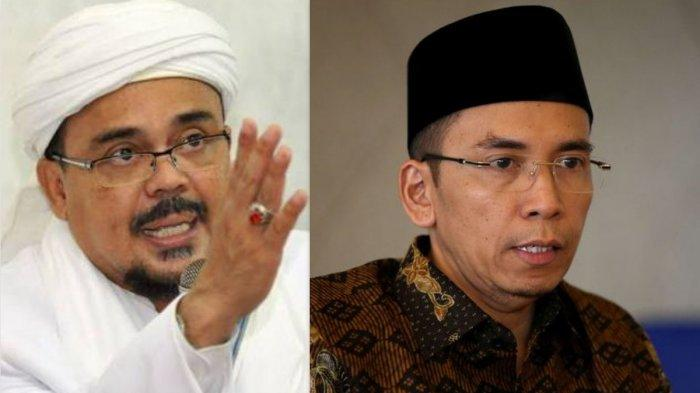 Diam-diam Ternyata Begini Sikap Tuan Guru Bajang pada Pemimpin FPI Muhammad Rizieq Shihab