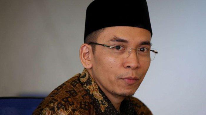 Mantan Gubernur Nusa Tenggara Barat, Zainul Majdi atau Tuan Guru Bajang (TGB) saat mengunjungi Kantor Redaksi Kompas.com di Menara Kompas, Jakarta, Kamis (12/7/2018).