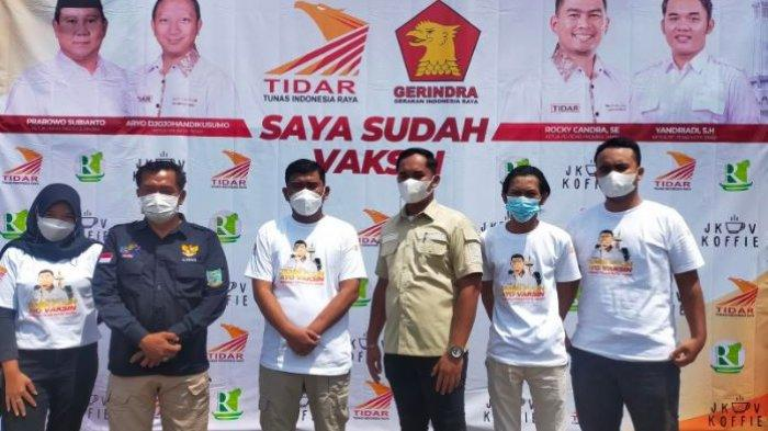 Tunas Indonesia Raya menggelar vaksinasi di SD Negeri 96/IV Kota Jambi