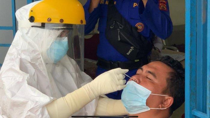 Lonjakan Penumpang, Satgas Lakukan Tes dan Hasilnya Seorang Petugas di Pelabuhan RoRo Positif Covid