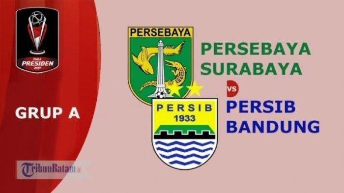 TV Online, Live Streaming Persib vs Persebaya Siaran Langsung Indosiar Piala Presiden 2019 Via HP