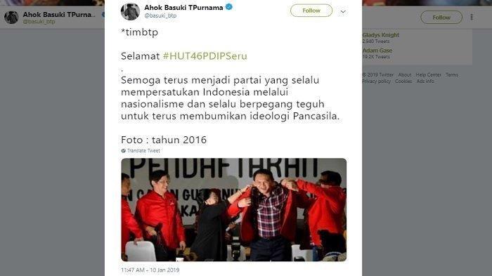Sinyal Ahok 'Lari' ke PDIP Menguat, Ini Daftar Rencana Besar yang Bakal 'Bungkam' Lawan Politik