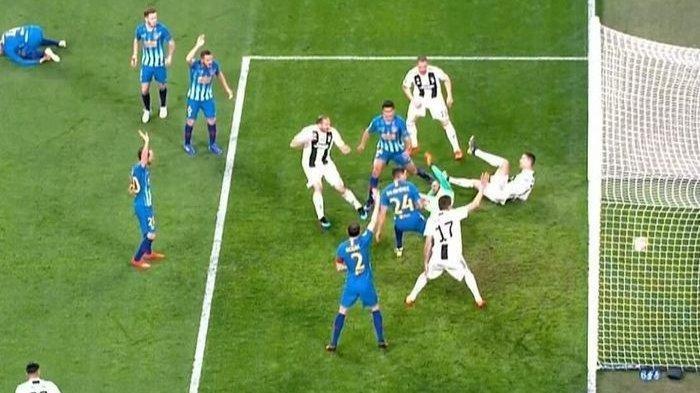 Hasil Liga Champions Juventus vs Atletico Madrid Skor 3-0, Cristiano Ronaldo Hattrick