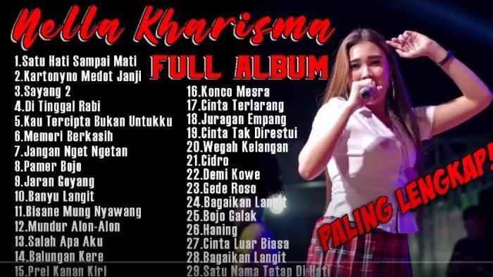 Download Lagu MP3 Nella Kharisma Spesial 24 Lagu Terbaru 2021, Ada Kumpulan Video Clip dangdut koplo