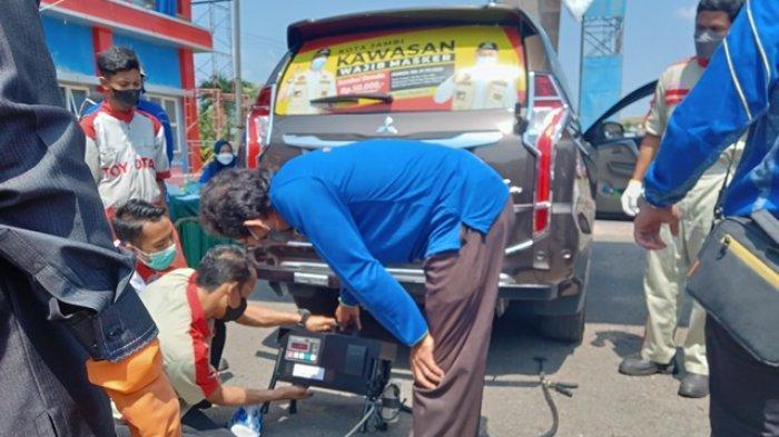 DLH Targetkan Lebih 1.500 Kendaraan Bermotor Ikut Uji Emisi Gratis di Markas Damkar Kota Jambi