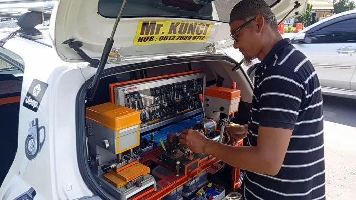 UMKM di Jambi Ini Bisa Duplikasi Kunci Immobilizer, Pelanggan Hingga Dari Provinsi Tetangga