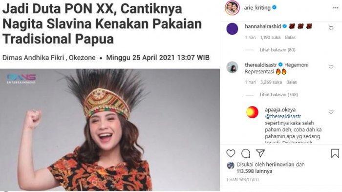 Niat Dukung Arie Kriting Soal Duta PON Papua, Dian Sastro Malah Ramai Dikritik Netizen: Kirai Smart!