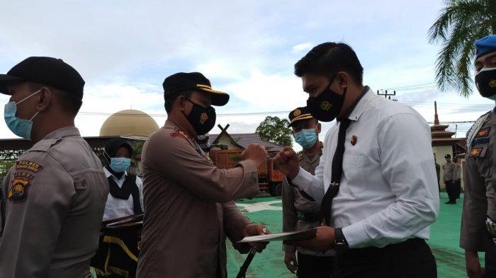 Ungkap Kasus Benih Lobster, 50 Personil Polres Tanjabbar Dapat Penghargaan