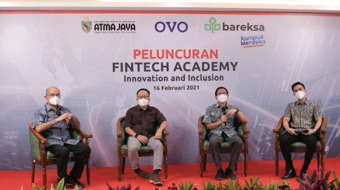 Unika Atma Jaya, OVO, dan Bareksa Luncurkan Fintech Academy Sebagai Bagian Program 'Kampus Merdeka'