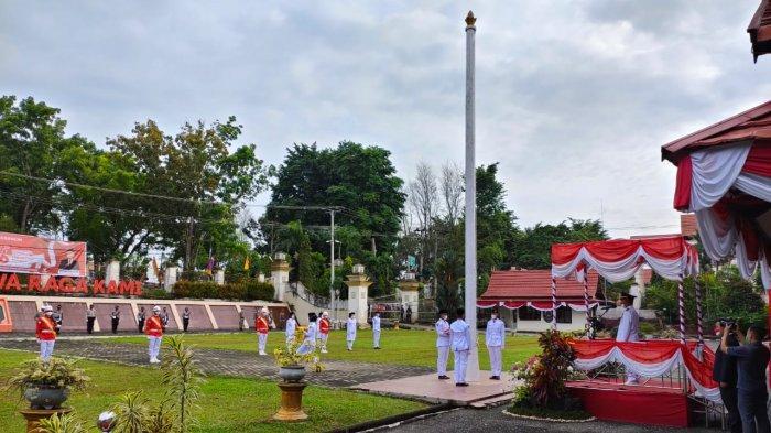 Ini Daftar Nama dan Asal Sekolah Pasukan Pengibar Bendera Merah Putih di Merangin