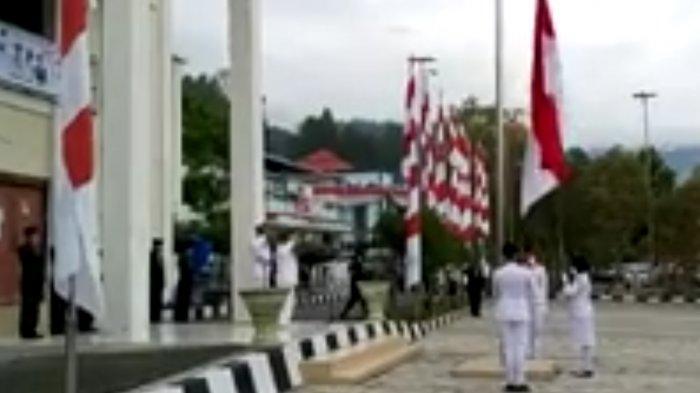 Walikota Sungai Penuh Pimpin Upacara HUT RI ke-75
