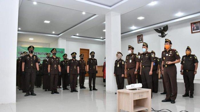 17 Calon Jaksa dari Kejaksaan Negeri se-Jambi Dilantik Jaksa Agung RI