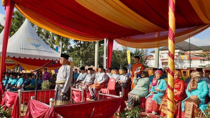 Diikuti Ribuan Peserta, Upacara Peringatan HUT Provinsi Jambi ke 63 Berlangsung Khidmat