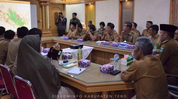 Upaya Konservasi dan Penyelamatan Gajah Sumatera, Bupati Sukandar Audiensi Bersama BKSDA Jambi