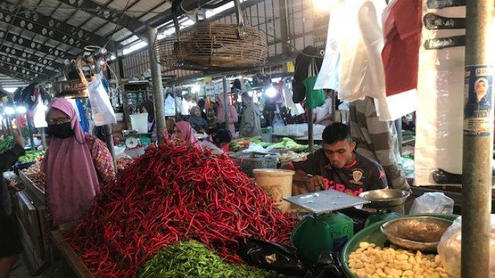 Update Daftar Harga Sembako Tiga Pasar Besar di Kota Jambi Hari Ini