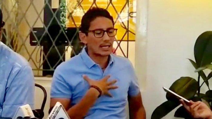 Sandiaga Uno Tegas, Tolak Ajakan Wakil Ketua Umum Partai Gerindra Arief Poyuono