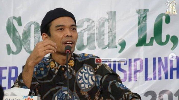Ustaz Abdul Somad Pernah Ceramah Soal Talak Istri Bila Minta Ini, Jadi Sebab Ceraikan Mellya?