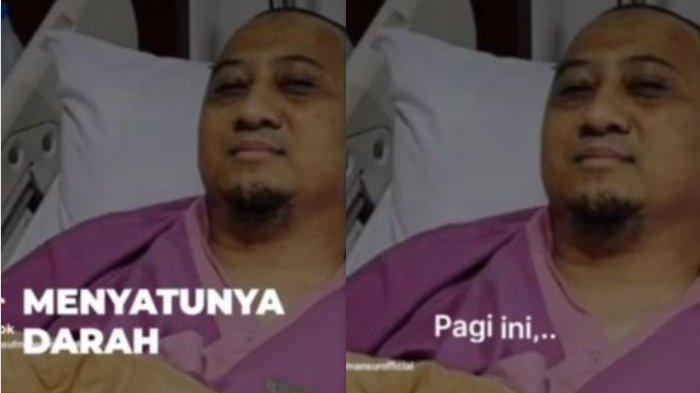 Wajah Ustaz Yusuf Mansur Pucat Usai Dilarikan ke Rumah Sakit, Butuh Banyak Darah: Kalau Gak, Kolaps