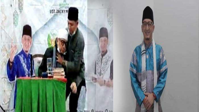 Begini Kondisi Terkini Ustaz Zacky Mirza Setelah Pingsan saat Berceramah di Riau