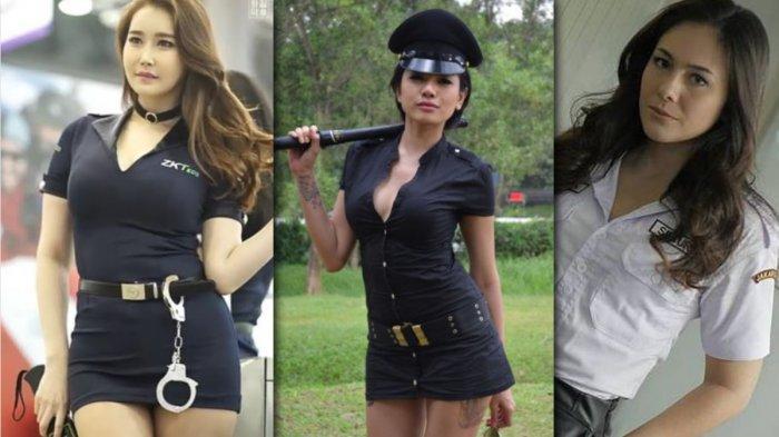 10 Foto Artis Seksi Pakai Busana Satpam Minim: Ada Miyabi, Nikita Mirzani hingga Wulan Guritno