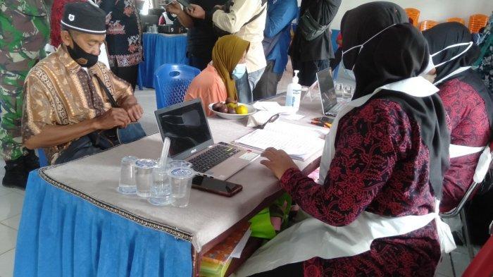 Partisipasi Lansia di Sabak Barat Untuk Ikut Vaksinasi Covid-19 Masih Rendah