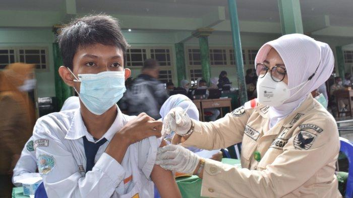 Vaksinasi Pelajar di Tanjab Timur Baru 44 Persen, Guru Diminta Jadi Contoh