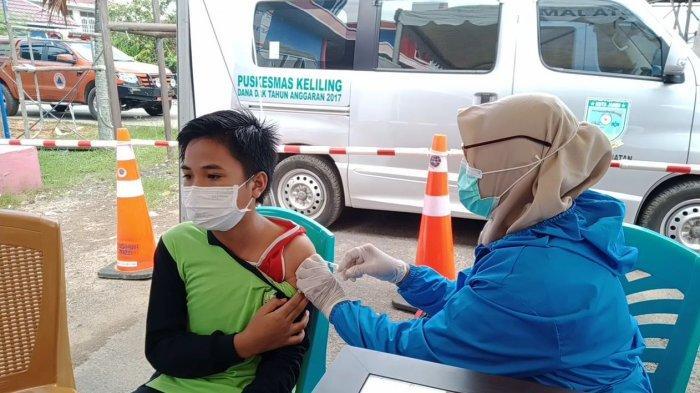 Orang Tua di Kota Jambi Dorong Anak Ikut Vaksinasi Karena Ingin Belajar Tatap Muka