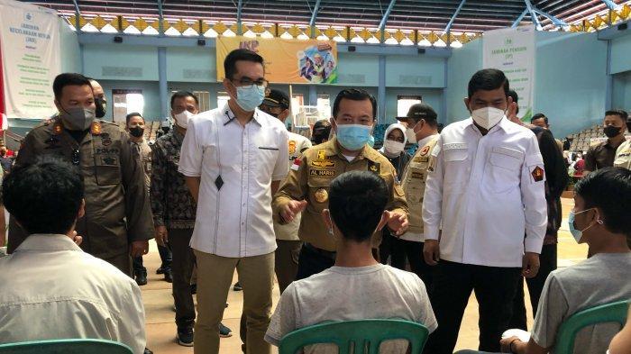 BP Jamsostek Sumbagsel Adakan Vaksinasi Covid-19 Gratis Untuk Pekerja dan Melaksanakan Donor Darah