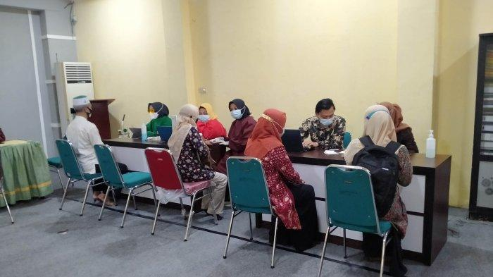 Pelayan Publik Lingkup Kemenag Kota Jambi Divaksin Covid-19