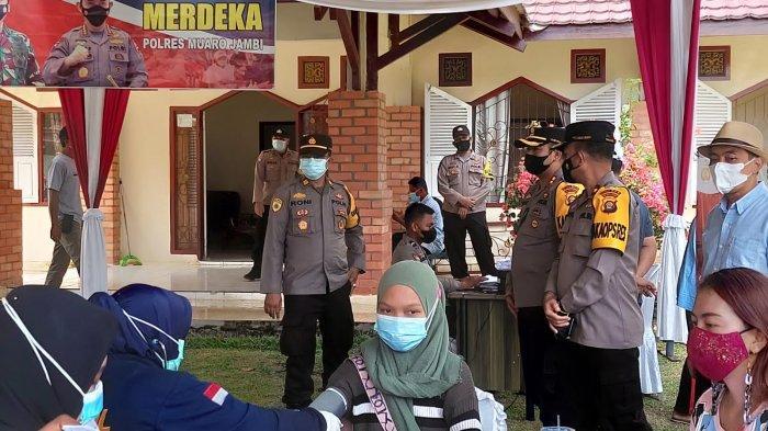 Vaksinasi Covid-19 di Muarojambi Baru 18 Persen, Satgas akan Jemput Bola ke Pelosok Desa