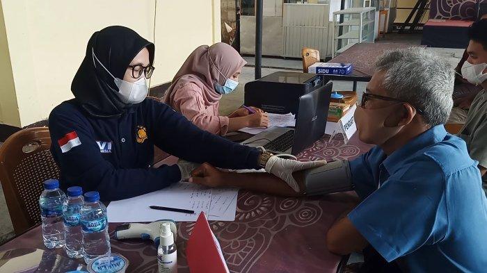 Gelar Vaksinasi Massal, Kapolres Tebo AKBP Gunawan Tri Laksono Targetkan 1.250 Orang Perhari