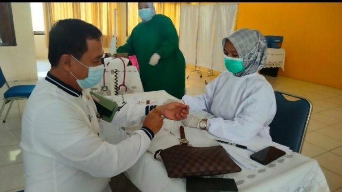 Kondisi Vaksinasi Tahap Kedua di Muarojambi Jauh dari Target, Dosis Vwaksin Jadi Kendala