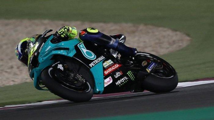 LINK NONTON MotoGP Portugal 2021, Sesaat Lagi Race, Rossi Kerja Keras Start dari Urutan 17