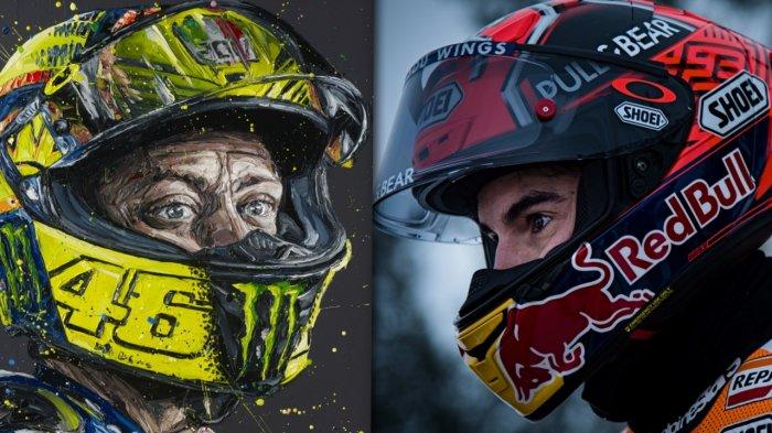 Marc Marquez dan Valentino Rossi Start Berdekatan, Serunya MotoGP Amerika, ini Hasil Kualifikasinya